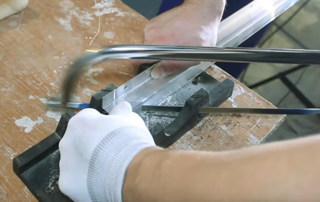 Фото - Подготовка алюминиевого профиля